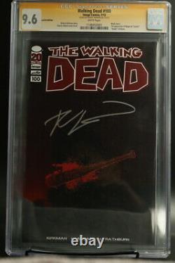 La Variante Walking Dead 100 Lucille Signée Par Robert Kirkham Cgc 9,6
