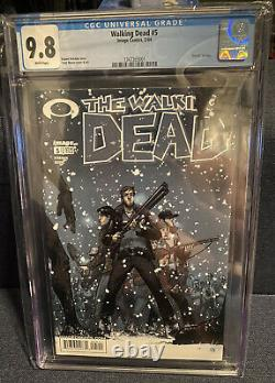 Le Décès De Walking #5 Cgc 9.8. Mort D'amy + Mystery Bonus Walking Dead Comics