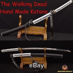 Le Tueur De Zombies Katana De The Walking Dead Sword-michonne Battle Realy Sword Sharp