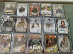 Les Cartes Walking Dead Autograph Trading 78 Autographié Cartes