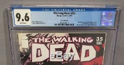 Les Morts # 35 Walking (rappelé Erreur D'impression Variant) Cgc 9,6 Nm + Image Comics
