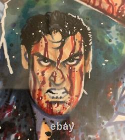 Marcher Mort # 109 Cgc 9.8 Croquis Signé Scott Blair Ash Evil Dead