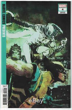 Marvel Comics Présente # 4 150 Bill Sienkiewicz, Chevalier De La Lune, Variante 2019 Nm