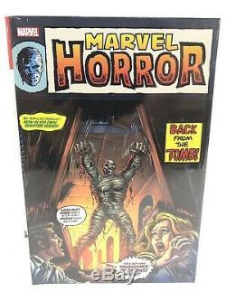 Marvel Horreur Omnibus Monstres Strange Tales Hulk Plus Marvel Comics Hc New 150 $