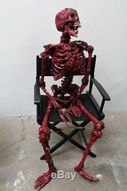 Meat Man Skeleton The Walking Dead Halloween Prop & Décoration Maison Hantée