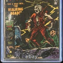 Menace #9 (atlas Comics 1954) Cgc 1.8 Walking Dead Pre-code Horror! Pch