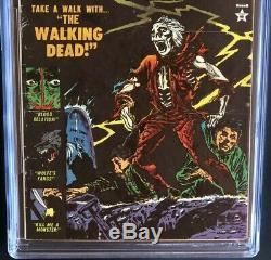 Menace # 9 (atlas Comics 1954) Cgc 7.0 Pré-morts-vivants Code Horreur! Pch