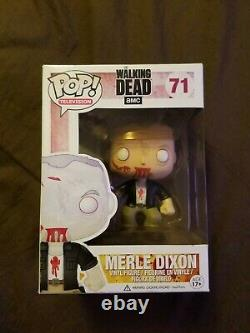 Merle Dixon Walking Dead Extremly Rare Funko Pop