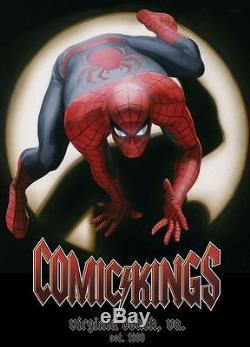 Miles Morales Ultimate Spider-man N ° 1 Cgc 9.8 Agrafes 150 Variantes De Bandes Dessinées Kings