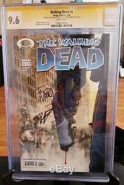 Mise À Jour Walking Dead Comics 1-5, 27 -première Impression Double Signé Cgc & 8-13,26,193