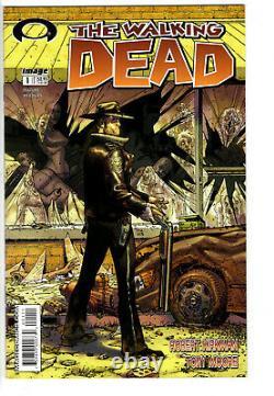 Mort # 1 Walking A (2003) Niveau 9.2 1er Imprimer! Robert Kirkman
