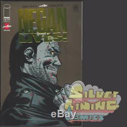 Negan Lives # 1 1er Variant D'or Imprimer Dernière Marche Skybound