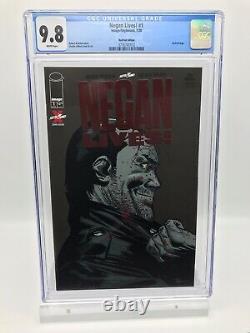 Negan Lives! # 1 Feuille Rouge Variante Cgc 9.8