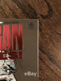 Negan Lives # 1 Feuille Rouge Variante Walking Dead Rare