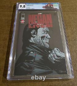Negan Lives #1 Red Foil Variante Cgc 9.8