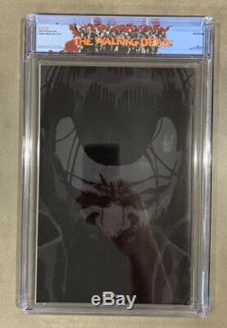 Negan Lives Feuille Rouge Feuille D'or Feuille D'argent Tous Les 3 Cgc 9.8! Les Morts Qui Marchent