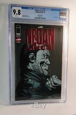 Negan Lives Foil Red Edition Cgc 9.8, Rare Walking Morte Variante, 500 A