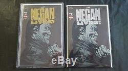 Negan Lives Gold & Silver