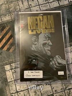Negan Lives! Numéro D'or Extrêmement Rare