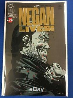 Negan Vies # 1 Gold Variant Image Skybound Robert Kirkman Nm Walking Dead