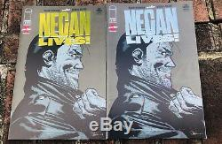 Negan Vies # 1 Or Et D'argent Variant Dernière Marche Mint