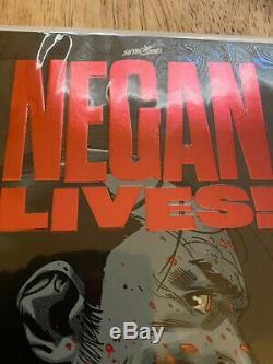 Negan Vies # 1 Variante Red Fleuret (série Limitée Super Rare)