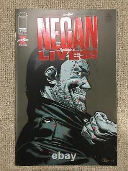 Negan Vit! 1 Variante Red Foil
