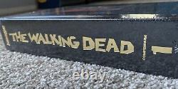 New The Walking Dead Compendium 1, Gold Foil Edition, Sdcc Exclusive Rare