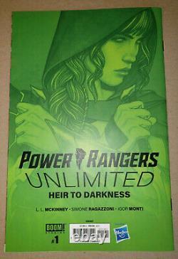 Power Rangers Héritier Illimité De L'obscurité 150 Jenny Frison Boom Virgin Variante