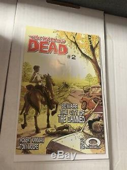 Rare! The Walking Dead # 1 (image) Première Impression 1er Imprimer Rick Grimes