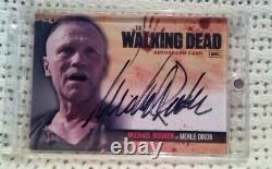 Rare! Walking Dead Saison 1 Autograph Card A13 Michael Rooker: Merle Dixon