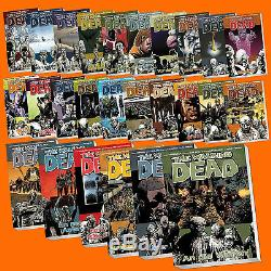 Réglez The Walking Dead Groupe 1-30 Alle Bände Comic Comics Deutsch (buch)