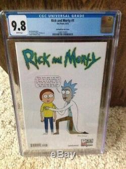 Rick And Morty 1 Lot De La Ccg 9.8 Première Impression Et Variante 150