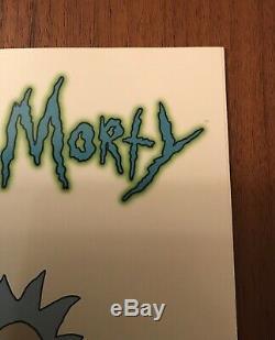 Rick Et Morty # 1 150 Justin Roiland Graal Variant Incentive (5 Pages Endommagées)