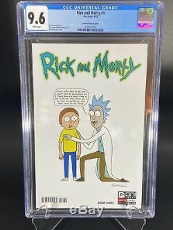 Rick Et Morty # 1 1ère Impression 150 Couverture D Roiland Cgc 9.6