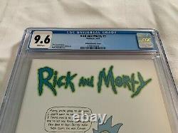 Rick Et Morty #1 Cgc 9.6 Roiland Variant 150 Oni Press