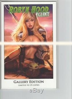 Robyn Capot Vigilante # 6 Galerie Khamunaki Édition Zenescope Grimm Fairy Tales