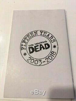 Sac Aveugle Walking Dead # 100 Variante Bubble 1100. Rare 15e Anniversaire, Vhtf Nm