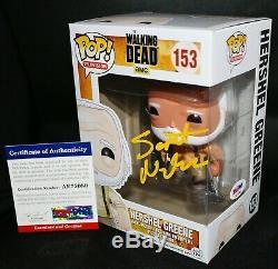 Scott Wilson A Signé Autograph Hershel Greene Walking Dead Funko Pop Psa Jsa
