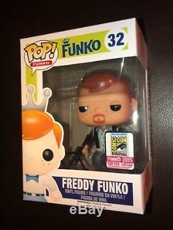 Sdcc 2015 Funko Dimanches The Walking Dead Daryl Dixon Freddy Funko Pop 1/500 Rare