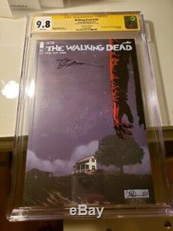 Sdcc 2019 Walking Dead # 193 Variante Couverture Cgc 9.8 Blancs Signé Robert Kirkman