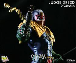 Sideshow / Pop Culture Shock Juge Dredd Diorama Statue Exclusive! Seulement 150 Made