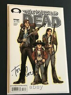 Signé The Walking Dead #3 1ère Impression Kirkman Moore