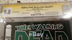 Signé Walking Sketch Morte Gouverneur 1 Michonne Cgc 9.8 193 Charlie Adlard 19