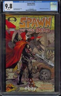 Spawn #223 Cgc 9.8 Todd Mcfarlane Walking Dead #1 Tribute Cover 2012 Comic Kings