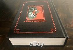 The Walking Compendium Morts Hc Vol 1 Sdcc Exclusive Red Foil Kirkman Signe