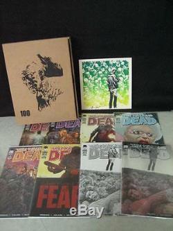 The Walking Dead 100 Box Édition Limitée Image Comics Kirkman Adlard Incomplet