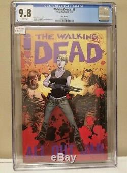 The Walking Dead # 116 Troisième Impression Cgc 9.8