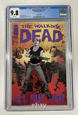 The Walking Dead #116 Troisième Impression Cgc 9.8 Rare