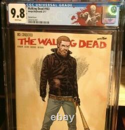 The Walking Dead #163 Cgc 9.8 Variante Couverture 1 Pour 200 Nouveaux Cas Flawless
